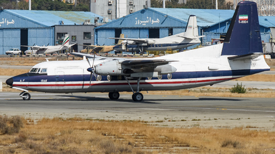5-8804 - Fokker F27-400M Troopship - Iran - Air Force