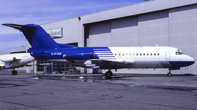 C-FTAR - Fokker F28-1000 Fellowship - Canadian Regional Airlines
