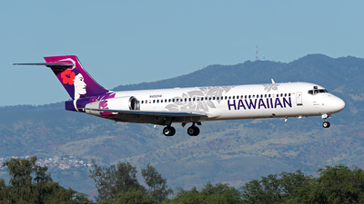 N490HA - Boeing 717-2CM - Hawaiian Airlines