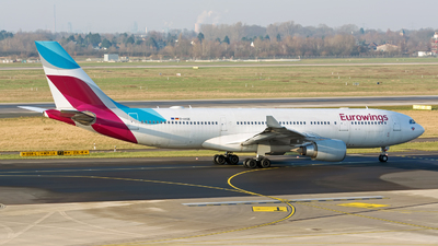 D-AXGE - Airbus A330-203 - Eurowings