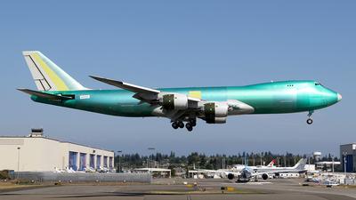 N6009F - Boeing 747-87UF - Boeing Company