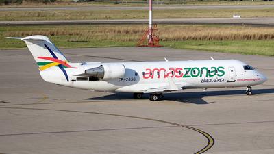 A picture of CP2856 - Mitsubishi CRJ200LR - Amaszonas - © La Roche Spotters