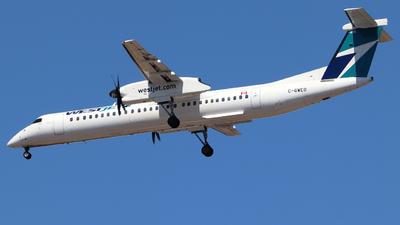 A picture of CGWEO - De Havilland Canada Dash 8400 - WestJet - © Guy Langlois