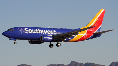 A picture of N713SW - Boeing 7377H4 - Southwest Airlines - © Philipp Schuetz