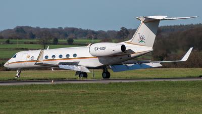 5X-UGF - Gulfstream G550 - Uganda - Government