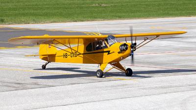 HB-OXD - Piper J-3C-65 Cub - Private