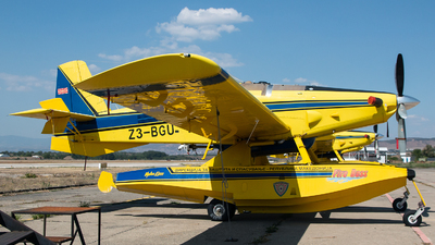 Z3-BGU - Air Tractor AT-802A Fire Boss - North Macedonia - Protection and Rescue Directorate