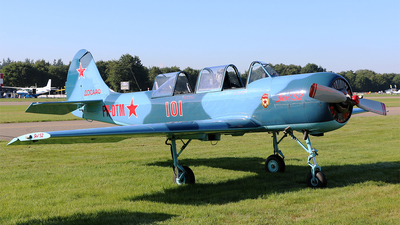 PH-DTM - Yakovlev Yak-52 - Private
