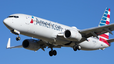 A picture of N831NN - Boeing 737823 - American Airlines - © Michael Rodeback