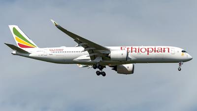 ET-AWP - Airbus A350-941 - Ethiopian Airlines