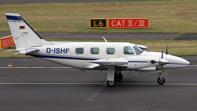 A picture of DISHF - Piper PA31T1 Cheyenne I - [31T8104029] - © Eddie Heisterkamp