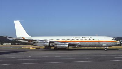 TF-AEB - Boeing 707-338C - Kenya Airways