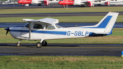 G-GBLP - Reims-Cessna F172M Skyhawk - Private