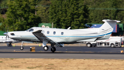 A picture of N244 - Pilatus PC12/47E - [1307] - © CChuang