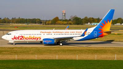G-JZBS - Boeing 737-8MG - Jet2.com