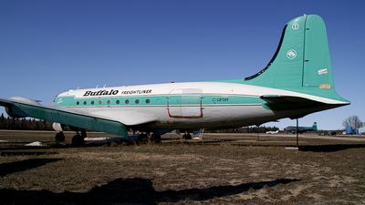 C-GPSH - Douglas DC-4 - Buffalo Airways