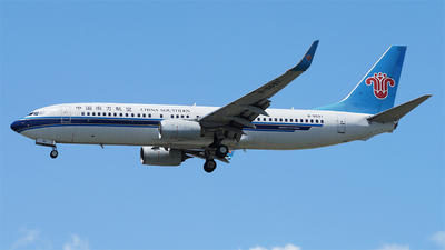 A picture of B5597 - Boeing 73781B - China Southern Airlines - © CRESTHONG