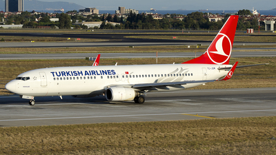 TC-JGM - Boeing 737-8F2 - Turkish Airlines