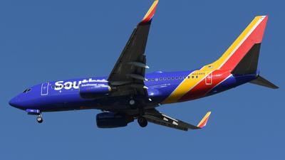 N444WN - Boeing 737-7H4 - Southwest Airlines