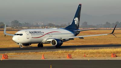 A picture of N845AM - Boeing 737852 - Aeromexico - © Rene Bernardo Olmos Bernal