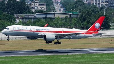 B-304U - Airbus A350-941 - Sichuan Airlines