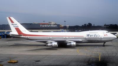 C-FFUN - Boeing 747-1D1 - Wardair Canada