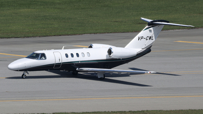 VP-CWL - Cessna 525 Citationjet CJ4 - Private