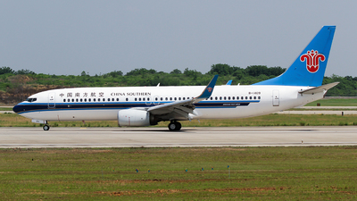 A picture of B1409 - Boeing 73781B - China Southern Airlines - © ceci wong