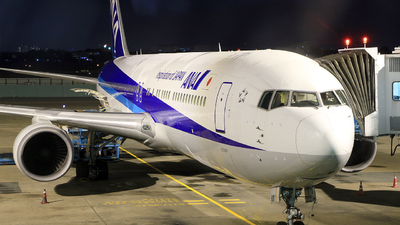 JA610A - Boeing 767-381(ER) - All Nippon Airways (ANA)