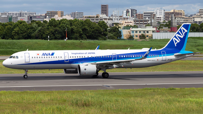 A picture of JA142A - Airbus A321272N - All Nippon Airways - © LUSU