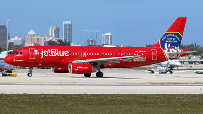 N615JB - Airbus A320-232 - jetBlue Airways