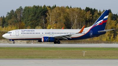 VQ-BHQ - Boeing 737-8LJ - Aeroflot