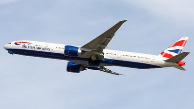 G-STBO - Boeing 777-336ER - British Airways