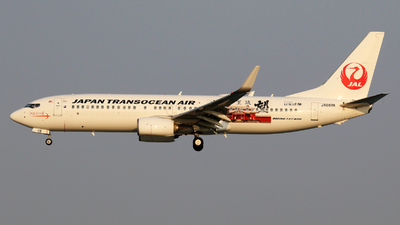 A picture of JA08RK - Boeing 7378Q3 - Japan Transocean Air - © Y Kobayashi