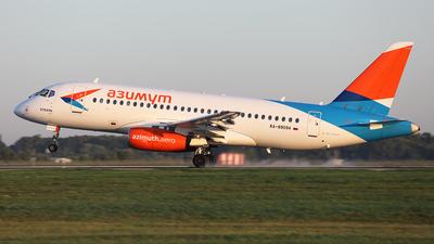 A picture of RA89094 - Sukhoi Superjet 10095LR - Azimuth - © BizavMen