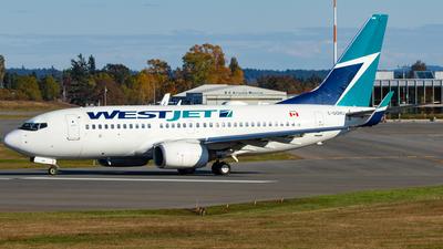 A picture of CGQWJ - Boeing 7377CT - WestJet - © CJMAviation