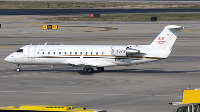 B-3373 - Bombardier CL-600-2B19 Challenger 850 - SR JET