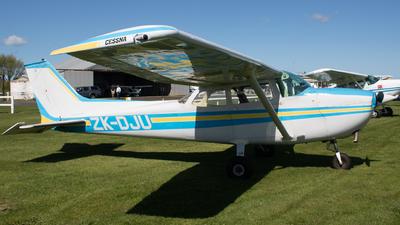 ZK-DJU - Cessna 172M Skyhawk - Private