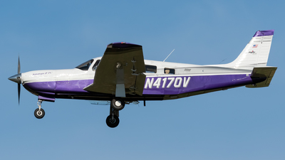 N4170V - Piper PA-32R-301T Saratoga II TC - Private
