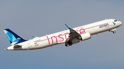 A picture of CSTSI - Airbus A321253NX - Azores Airlines - © Rui Sequeira