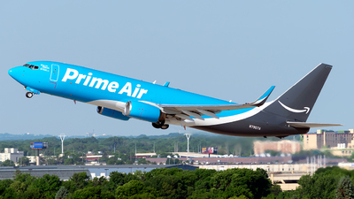 N7907A - Boeing 737-83N(BCF) - Amazon Prime Air (Sun Country Airlines)
