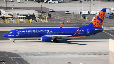 N808SY - Boeing 737-8BK - Sun Country Airlines