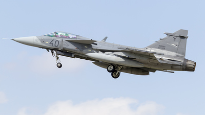 40 - Saab JAS-39C Gripen - Hungary - Air Force