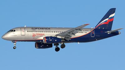 A picture of RA89064 - Sukhoi Superjet 10095B - Rossiya - © BizavMen