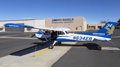 N634ER - Cessna 172S Skyhawk - Embry-Riddle Aeronautical University (ERAU)