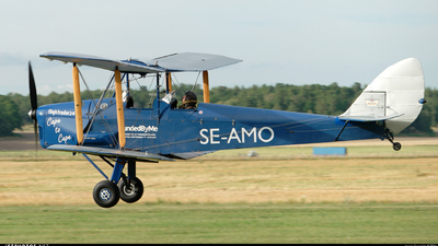 SE-AMO - De Havilland DH-60G Gipsy Moth - Private