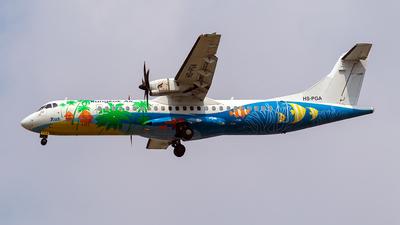 A picture of HSPGA - ATR 72500 - [0710] - © TRAVAIR