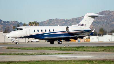 A picture of N529FX - Bombardier Challenger 300 - Flexjet - © Craig Stevens