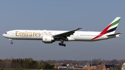 A picture of A6EGF - Boeing 77731H(ER) - Emirates - © Kris Van Craenenbroeck
