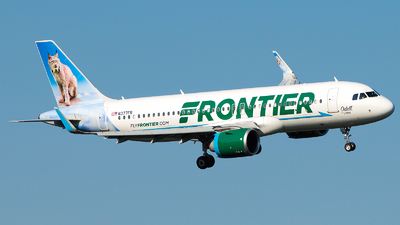 N377FR - Airbus A320-251N - Frontier Airlines
